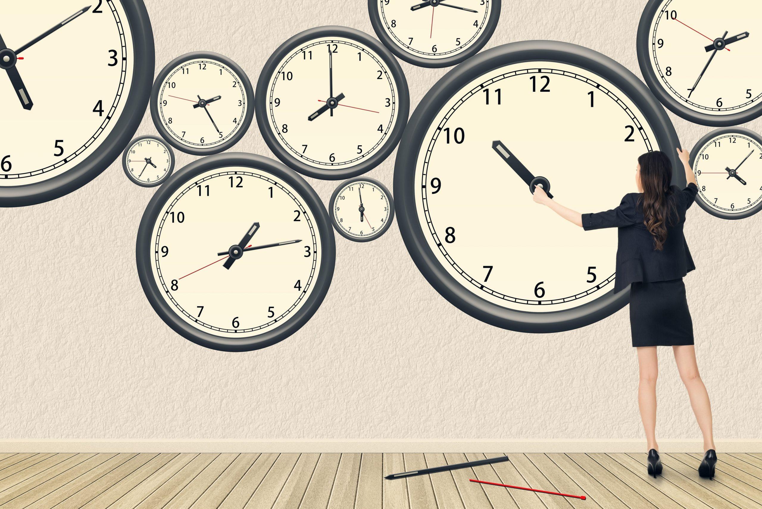 La zona de confort y la gestión del tiempo